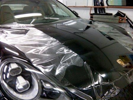 Антигравийная защита кузова автомобиля