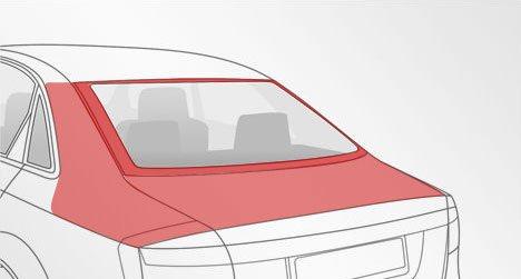 Замена и установка заднего стекла автомобиля - цена