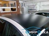 Оклейка крыши автомобиля